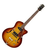 GODIN  5th Avenue CW Kingpin II Cognacburst Electric Guitar with case Hollowbody