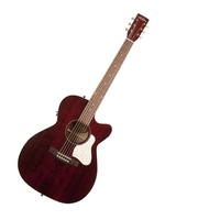 Art & Lutherie Legacy Tennessee Red CW Acoustic Electric Guitar with Cutaway QIT