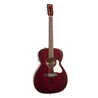 Art & Lutherie Legacy Acoustic Electric Guitar Tennessee Red