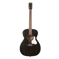 Art & Lutherie Legacy Acoustic Electric Guitar Faded Black 042388