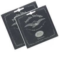 2 X Aquila 100U Super Nylgut Soprano Regular Tuning Ukulele Strings