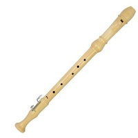 Meinel Maple  Wooden Tenor Recorder with Bag Made in Germany
