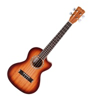 Cordoba 15TM-CE Tenor Cutaway Acoustic / Electric Ukulele Edgeburst Finish