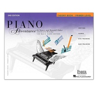 Faber Piano Adventures Piano Adventures Theory Book - Primer Level, 2nd Edition