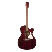 Art & Lutherie Legacy Acoustic / Electric Guitar Cutaway - Tennessee Red