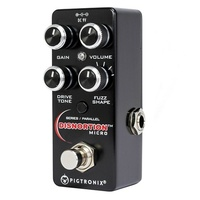 Pigtronix OFM Disnortion Micro Analog Fuzz & Overdrive Guitar Effects Pedal