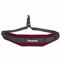 Neotech Soft Sax Strap  Wine Red Regular, Swivel Hook Fits most saxophones