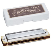 TOMBO 1210G Folk Blues Mark-II 10 holes Diatonic harmonica Blues Harp Key of G
