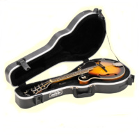 SKB 1SKB-80F  F-Style Mandolin Case ABS Moulded with TSA locks * CASE ONLY *