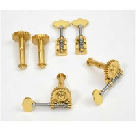 Rubner Double Bass   4/4, /  3/4v Gold Deluxe  Machine Heads  Set of 4 ,