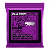 Ernie Ball 2250 Pure Nickel Power Slinky Electric Guitar Strings 11 - 48
