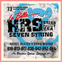 La Bella HRS-73 7-String Electric Guitar Strings Designed for drop Tune 10 - 64