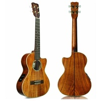 Cordoba 25TK-CE Acoustic/Electric Tenor Ukulele Solid Acacia with Deluxe Gig Bag