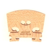 Aubert 1/2 Violin Bridge No 5  Blank Made in France
