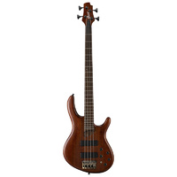 Cort B4 Plus 4 String Open Pore Mahogany Electric Bass Guitar