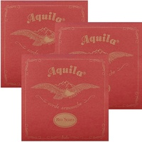 3 sets Aquila 87U Red Series Tenor Regular Tuning Ukulele Strings AQU87U