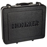 Hohner 91141 Pro Harmonica Case Holds 12 Diatonics and one Chromatic harmonica