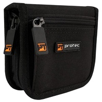 Protec A222ZIP Double Trombone Mouthpiece Pouch with Zipper Closure