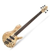 Cort  A5 Plus SCMS OPN 5 string Bass  Open Pore BARTOLINI Pickup's with Case
