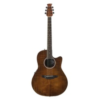 Ovation AB24IIP-VF Applause Standard Exotic Acoustic-Electric Guitar Vintage Flame