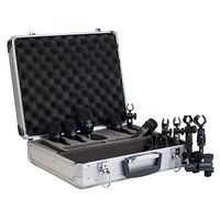 Audix FP5 Fusion 5-Piece Drum Microphone Package with Flight Case