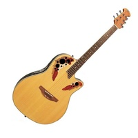 Ovation Applause AE248 Acoustic / Electric Guitar Super Shallow  Cutaway Natural