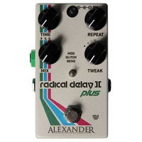 Alexander Pedals Radical Delay II+ (2 Plus) Guitar Effects Pedal