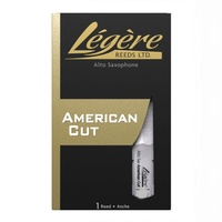 Legere American Cut Alto Saxophone single  Reed Strength 3.00