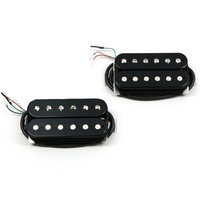 Bare Knuckle Nailbomb 6-String Calibrated Open Humbucker Set, 53mm, Short Leg,