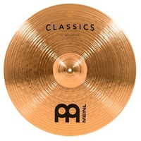 "Meinl Cymbals 22"" Medium Ride Cymbal - Classics Traditional - Made in Germany"