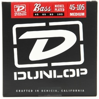 Dunlop DBN45105 Nickel Plated Steel Medium Bass Guitar Strings 45 - 105