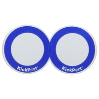 Kickport D-Pad Bass Drum Impact Pad Works on double or single  Pedals  - White