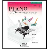 Faber Music Piano Adventures Theory Book Level 1  2nd Edition FF1079