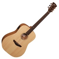 Faith  Naked Series' FKSE Saturn  Acoustic / Electric Guitar with Bag Solid wood