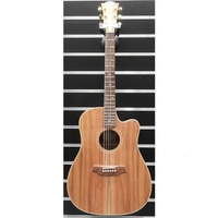 Cole Clark FL2EC-BLBL Fat Lady 2 Acoustic Guitar - Australian Blackwood c/w Case