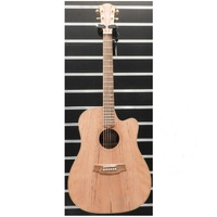 Cole Clark FL2EC-RDBL Fat Lady 2 Acoustic Guitar - Redwood / Blackwood c/w Case