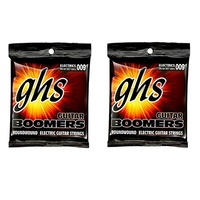 2 sets GHS GBCL Guitar Boomers Custom Light Electric Guitar Strings 9 -46