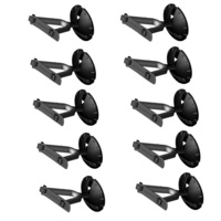 10 x Ultimate Support GS-10W Genesis Series Guitar Wall Hanger