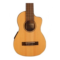 Cordoba Guilele CE 6-String Acoustic-Electric Ukulele Travel Guitar with Gig bag