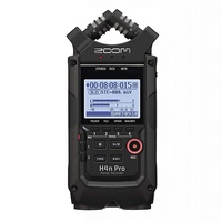 Zoom H4n Pro Handy Recorder - Black 24-bit/96kHz Field Recorder and 2x2 USB Audio Interface