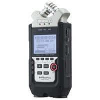 Zoom H4N Pro Handy Recorder Field Recorder and 2x2 USB Audio Interface