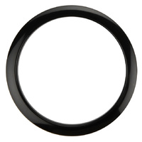 "Bass Drum O's Port Hole  Reinforcement  Ring - 6"" - Black"
