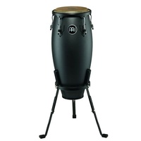 Meinl  Percussion Headliner Conga, Nino 10 inch with Basket Stand, Phantom Black