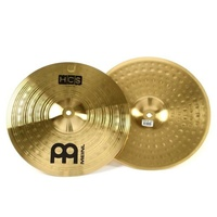 "Meinl Cymbals  HCS Hi-hat Cymbals - 14"" delivers such an articulate, clean sound"