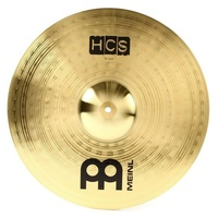 "Meinl Cymbals  HCS Crash Cymbal - 18""  Projection and Sustain"