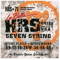 La Bella HRS-71  7-String Electric Guitar Strings Designed for drop Tune 09 - 64