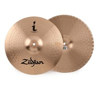 "Zildjian 14"" I Series Mastersound Hi-hat Cymbals - Traditional HiHats"