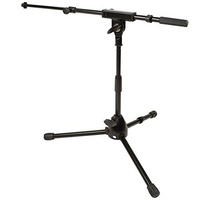 Ultimate Support JS-MCTB50 JamStands Series Short Mic Stand c/ Telescoping Boom