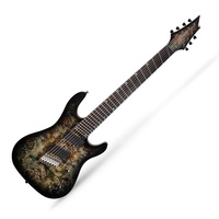 Cort  KX500MS SDB 7 String Electric Guitar Stardust Black Multi Scale with EMG's