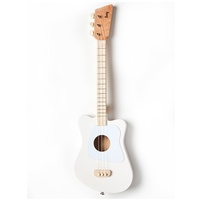 Loog Mini Acoustic Guitar for children and Beginners White Ages 3+